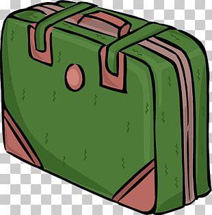 Suitcase Baggage Travel Cartoon PNG