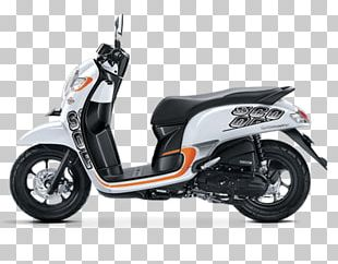 Honda Scoopy Scooter Car Motorcycle PNG