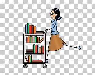 Library Cart PNG
