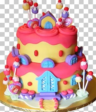 Birthday Cake Wedding Cake Chocolate Cake Frosting & Icing PNG