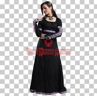 Renaissance Middle Ages Dress Costume Sleeve PNG