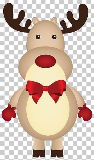 Rudolph Santa Claus's Reindeer Christmas PNG