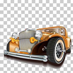 Vintage Car Automobile Repair Shop Motor Vehicle Service PNG