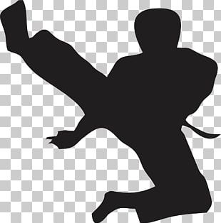 Flying Kick Taekwondo Karate Martial Arts PNG
