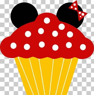 Mickey Mouse Minnie Mouse Cupcake Birthday Cake Frosting & Icing PNG