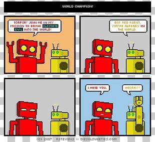 Comics Cartoon Diesel Sweeties Robot Xkcd PNG