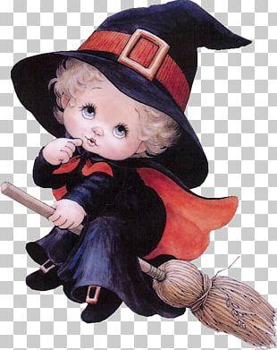 Halloween HOLLY BABES Boszorkány PNG