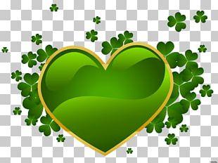 Ireland Saint Patrick's Day Shamrock Leprechaun PNG