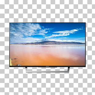 Sony BRAVIA XE80 High-definition Television 4K Resolution Smart TV PNG