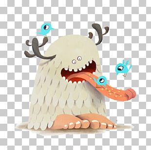 Drawing Illustrator Monster Art Illustration PNG
