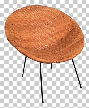 Eames Lounge Chair Wicker Table Rattan PNG