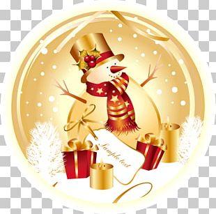 Santa Claus Christmas Card Snowman PNG