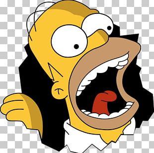 Homer Simpson Bart Simpson Lisa Simpson Marge Simpson Nelson Muntz PNG