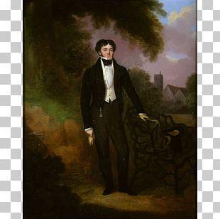 Portrait Of A Man (Self Portrait?) Oil Painting Portrait Of An English Gentleman PNG