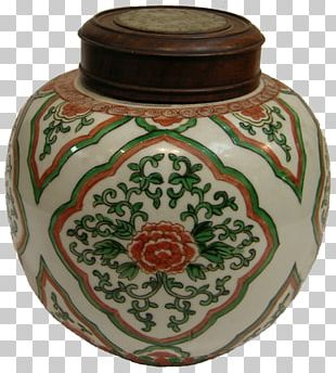Vase Ceramic Pottery Maroon PNG