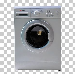 Washing Machines Haier HW60-12829 Freestanding 6kg Washing Machine Laundry PNG