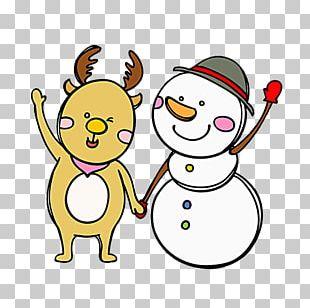 Deer Snowman PNG