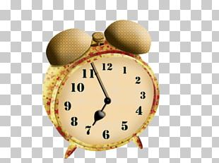 Alarm Clock Cartoon Pendulum Clock PNG