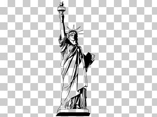 Statue Of Liberty Wall Decal Skyline Sticker PNG