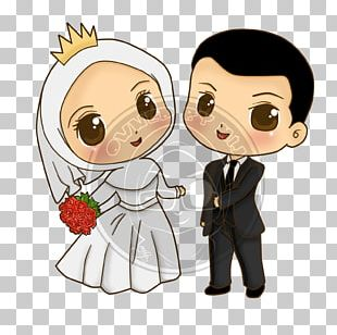 Wedding Invitation Cartoon Drawing PNG