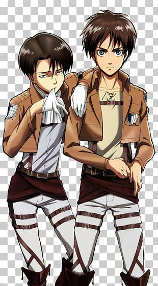 Eren Yeager Mikasa Ackerman Levi A.O.T.: Wings Of Freedom Attack On Titan: Humanity In Chains PNG