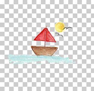 Sea Euclidean Sailing Ship PNG