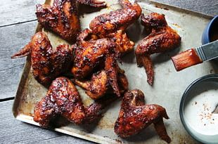 Barbecue Chicken Buffalo Wing Barbecue Grill Chicken Meat Recipe PNG