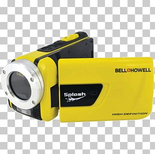 Digital Cameras Video Cameras Digital Video Bell & Howell WV30HD SplashHD PNG