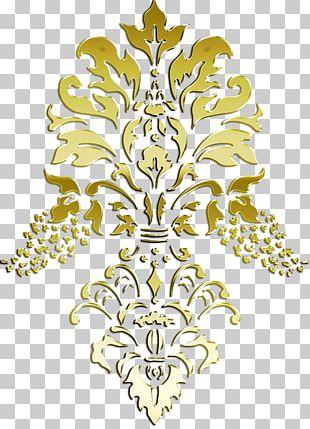 Stencil Rosemåling Paper Art Pattern PNG