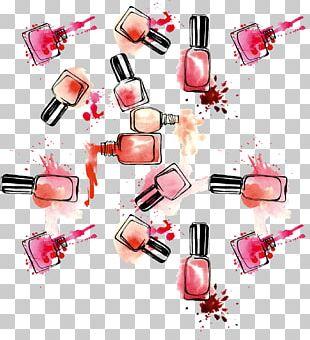 Nail Polish Cosmetics Lipstick PNG