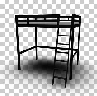 Table Bunk Bed Bed Frame Bedroom PNG