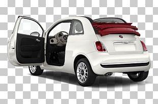 2013 FIAT 500 Car Fiat Automobiles Fiat 500L PNG