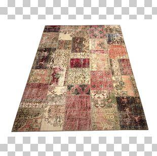 Textile Patchwork Carpet Flooring Pattern PNG