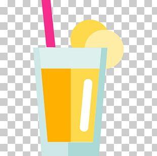 Milkshake Orange Juice Orange Drink Banana PNG