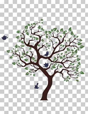 Wall Decal Mural Tree Painting PNG