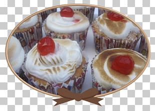 Cupcake Petit Four Plate Muffin Scallop PNG