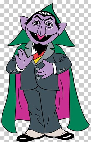 Count Von Count Ernie Oscar The Grouch Elmo Cookie Monster PNG