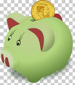Saving Money Bank PNG