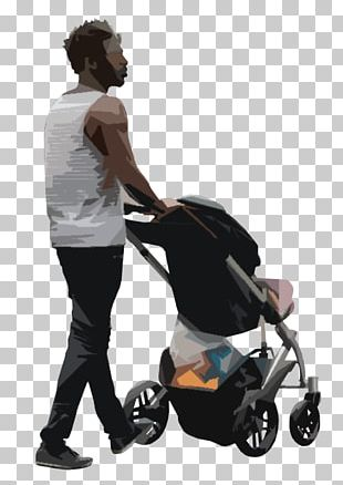 Clipping Path Baby Transport Rendering PNG
