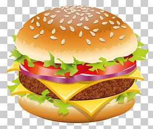 Hamburger Hot Dog Cheeseburger Fast Food PNG