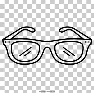 Sunglasses Drawing Goggles Coloring Book PNG
