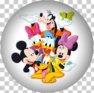 Mickey Mouse Minnie Mouse Daisy Duck Pluto Donald Duck PNG