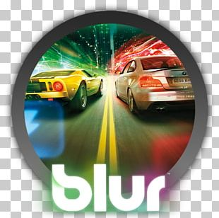 Blur Xbox 360 PlayStation 3 Racing Video Game PNG