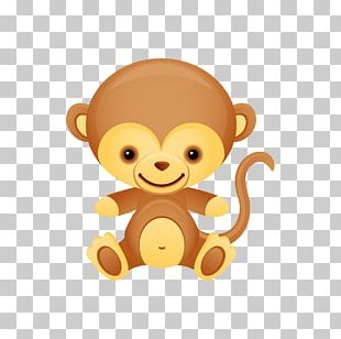 Wedding Invitation Baby Shower Monkey Party Infant PNG
