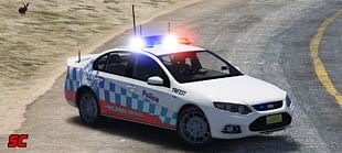 New South Wales Police Force Grand Theft Auto V Car Ford Falcon PNG