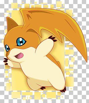 Patamon Agumon Gatomon Digimon Whiskers PNG