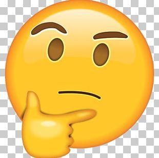 Emoji Thought WhatsApp Emoticon PNG