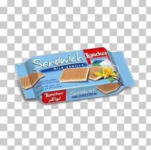 Wafer Custard Cream Quadratini Milk PNG