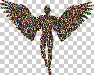 Cherub Angel Silhouette PNG
