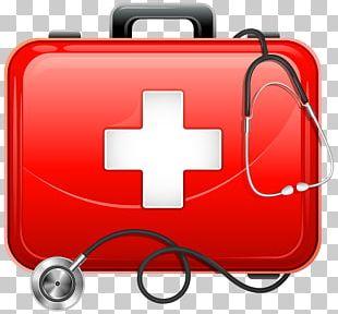Medicine Medical Bag First Aid Kits PNG